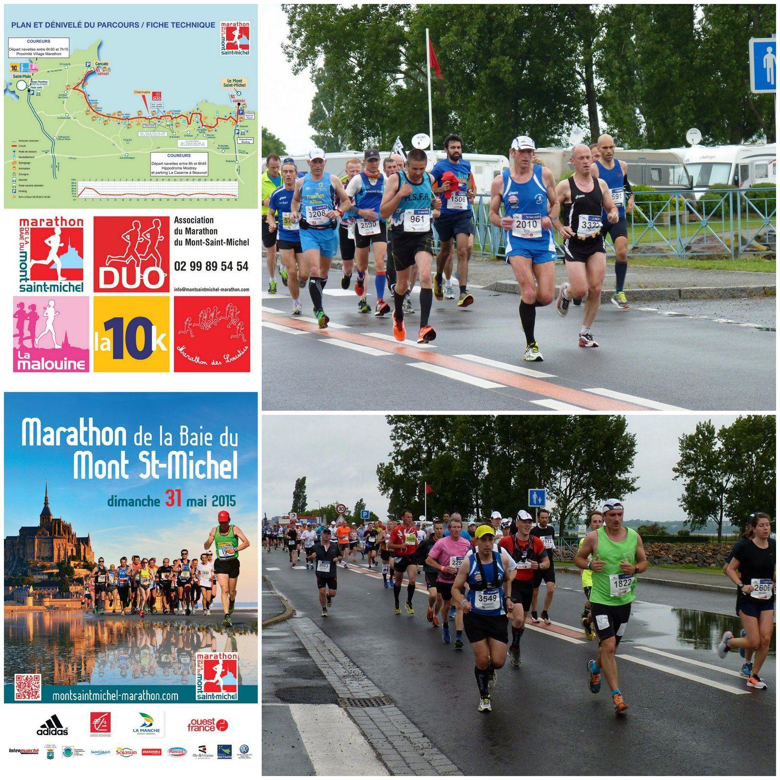 marathon du mont michel dimanche 31 mai